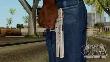 Original HD Colt 45 para GTA San Andreas terceira tela