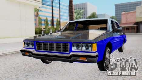 Chevrolet Caprice 1980 SA Style Civil para GTA San Andreas