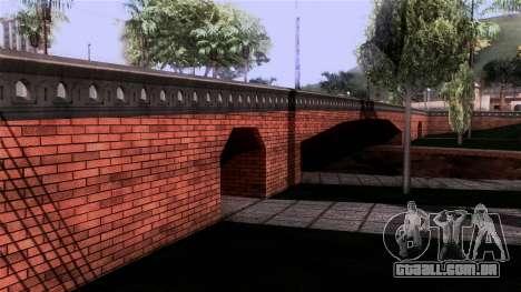 New Glen Park para GTA San Andreas segunda tela