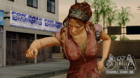 Tess from The Last of Us para GTA San Andreas