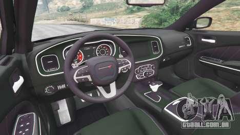 Dodge Charger RT 2015 v1.1 para GTA 5