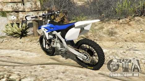 Yamaha YZ 250 v0.1 para GTA 5
