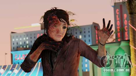 Born Child Girl para GTA San Andreas