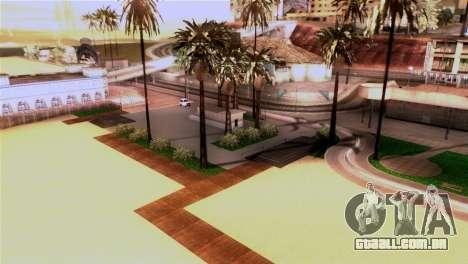 Nova praia em Los Santos para GTA San Andreas terceira tela