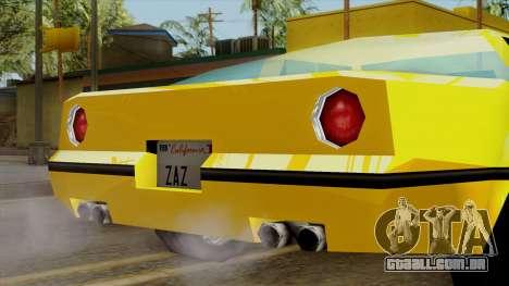 Banshee from Vice City Stories para GTA San Andreas vista direita