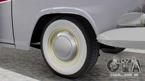 GAZ 21 Volga v2 para GTA San Andreas traseira esquerda vista