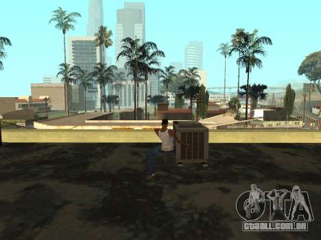 Animação do GTA Vice City para GTA San Andreas quinto tela