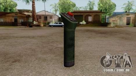 Original HD Bomb Detonator para GTA San Andreas