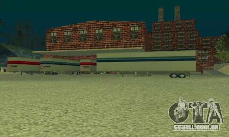 A companhia de petróleo LUKOIL para GTA San Andreas terceira tela