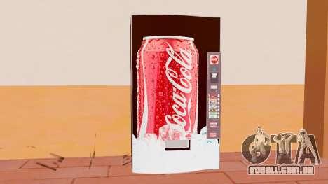 A Coca-Cola De Máquina para GTA San Andreas terceira tela