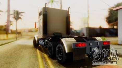GTA 5 MTL Packer Trainer IVF para GTA San Andreas esquerda vista
