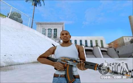 AK-47 Carbone Edition para GTA San Andreas segunda tela