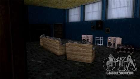 Retextured interior da mansão de MADD Dogg para GTA San Andreas por diante tela