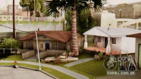 HD Grove Street para GTA San Andreas terceira tela