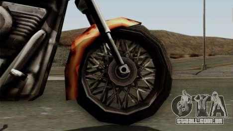 Freeway Diablo para GTA San Andreas vista direita