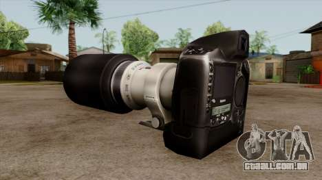 Original HD Camera para GTA San Andreas segunda tela