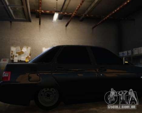 VAZ 2110 para GTA 4 vista de volta