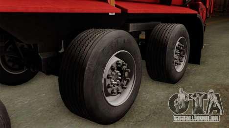 Krampe SB3060 para GTA San Andreas traseira esquerda vista