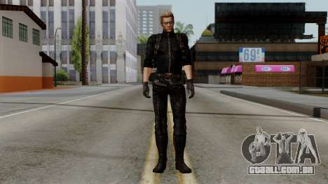 Wesker Midnight para GTA San Andreas segunda tela