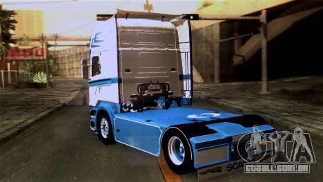 Scania R730 para GTA San Andreas esquerda vista