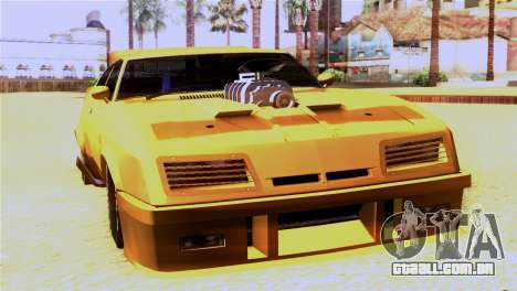 Ford Falcon XB Interceptor Mad Max para GTA San Andreas