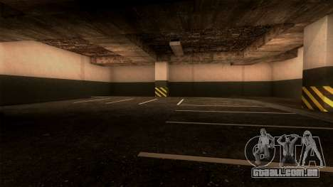 Novo LSPD Estacionamento para GTA San Andreas quinto tela