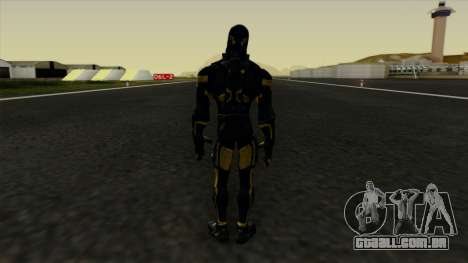 Ant-Man Yellow Jacket para GTA San Andreas terceira tela