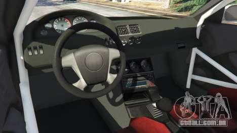 GTA 5 BMW M3 GTR E46 Most Wanted v1.2 traseira direita vista lateral
