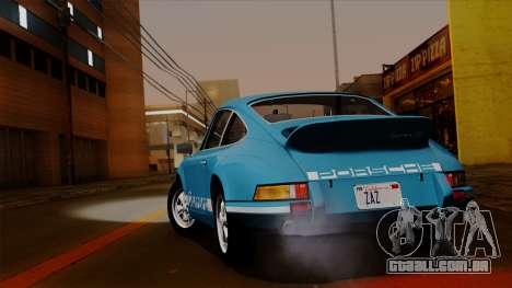 Porsche 911 Carrera RS 2.7 Sport (911) 1972 HQLM para GTA San Andreas vista direita