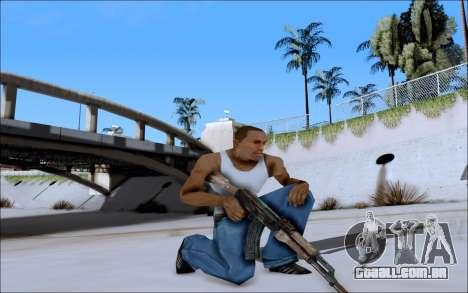 AK-47 Soviet para GTA San Andreas terceira tela