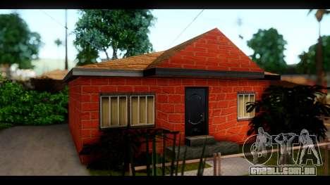 Novas texturas das casas ao redor grove Street para GTA San Andreas por diante tela