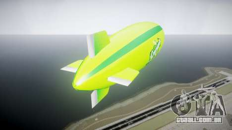 GTA V Xero Blimp para GTA 4 traseira esquerda vista