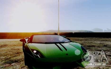 ENB Series HQ Graphics v2 para GTA San Andreas sexta tela