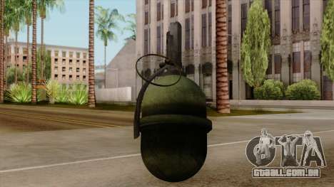 Original HD Grenade para GTA San Andreas