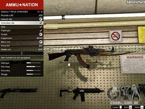 AK-47 Besta para GTA 5