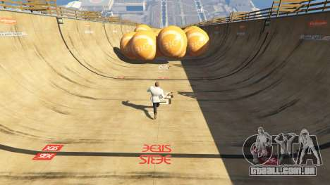 Race the balls v1.2 para GTA 5
