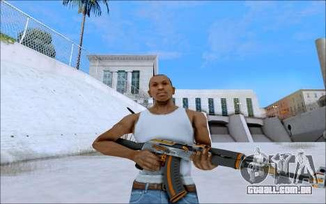 AK-47 Carbone Edition para GTA San Andreas