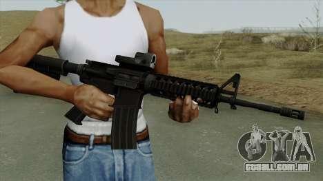 AR-15 Trijicon para GTA San Andreas terceira tela