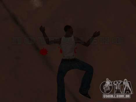 Animação do GTA Vice City para GTA San Andreas segunda tela