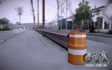 Edifício na Grove Street v0.1 Beta para GTA San Andreas décima primeira imagem de tela