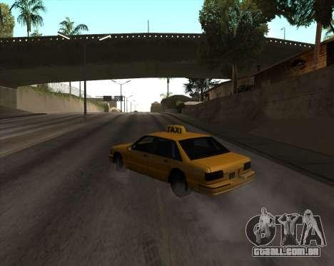 Drift para GTA San Andreas terceira tela