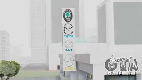 A Concessionária MAGR-Auto para GTA San Andreas terceira tela