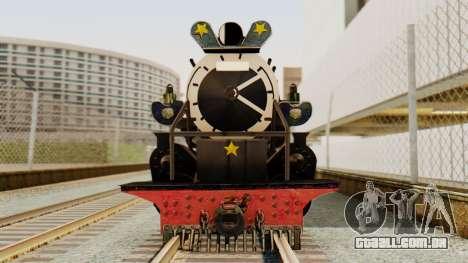 CC5019 Indonesian Steam Locomotive v1.0 para GTA San Andreas traseira esquerda vista