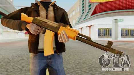 AK-74 SA Style para GTA San Andreas terceira tela