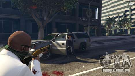GTA 5 Strapped Peds quinta imagem de tela