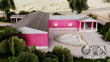 Novas texturas do clube, em Las Venturas para GTA San Andreas terceira tela