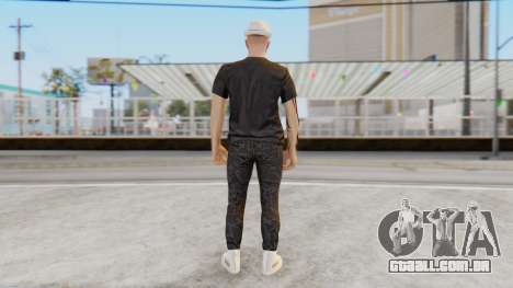 Personalized Skin from GTA Online para GTA San Andreas terceira tela