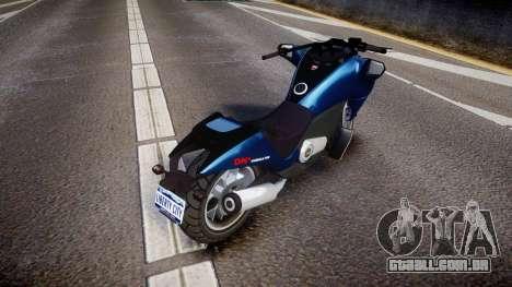 GTA V Dinka Vindicator para GTA 4 traseira esquerda vista