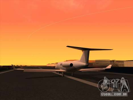 Ultimate Graphics Mod 2.0 para GTA San Andreas por diante tela