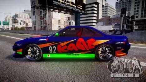 Nissan Silvia S14 para GTA 4 esquerda vista